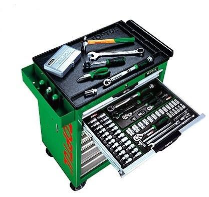 Tủ đồ nghề 7 ngăn  283 chi tiết TOPTUL GT-28307