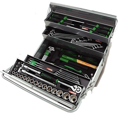 Tủ đựng dụng cụ xách tay 3 ngăn 65 chi tiết TOPTUL GCAZ0048